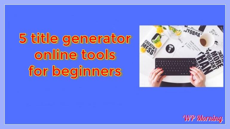 Title-Generator-online-tools