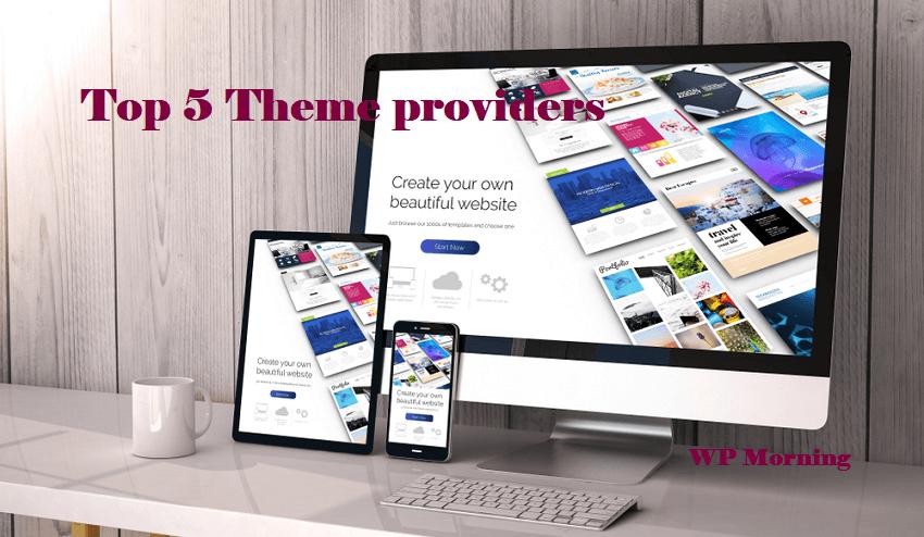 Top 5 Theme providers
